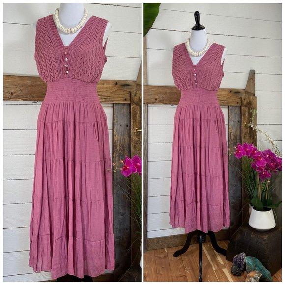 🎄j Gee Petite XL NWT Pink Summer Dress